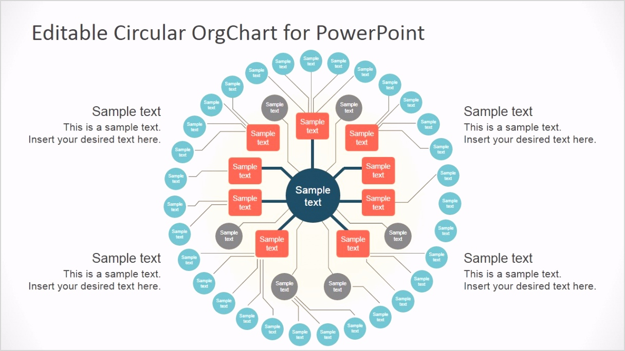 7125 01 editable circular orgchart for powerpoint 1