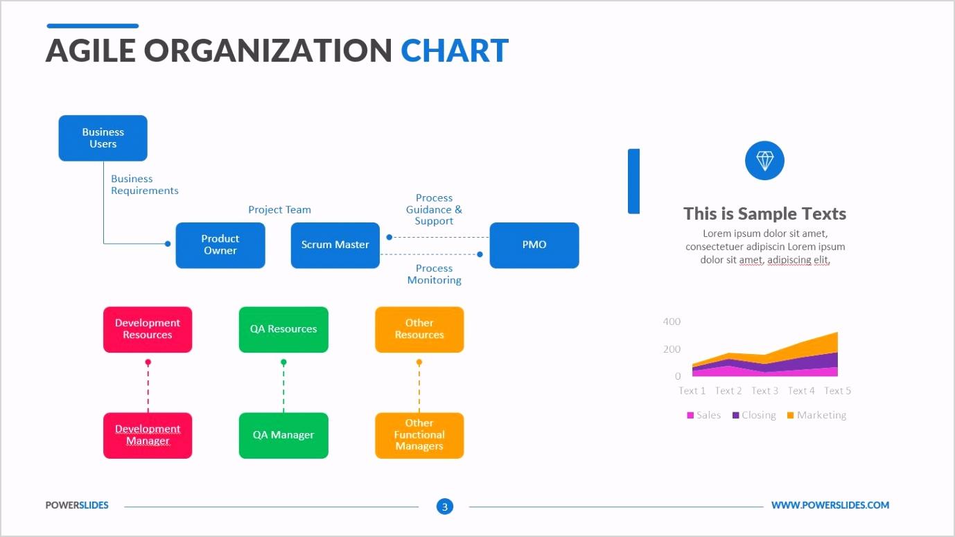 Agile Organization Chart 3