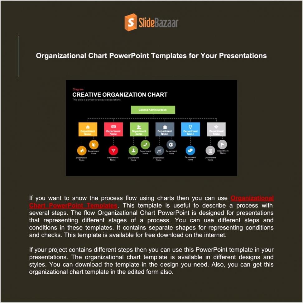 organizational chart powerpoint templates l