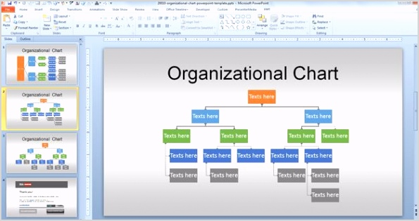 editable org chart template powerpoint