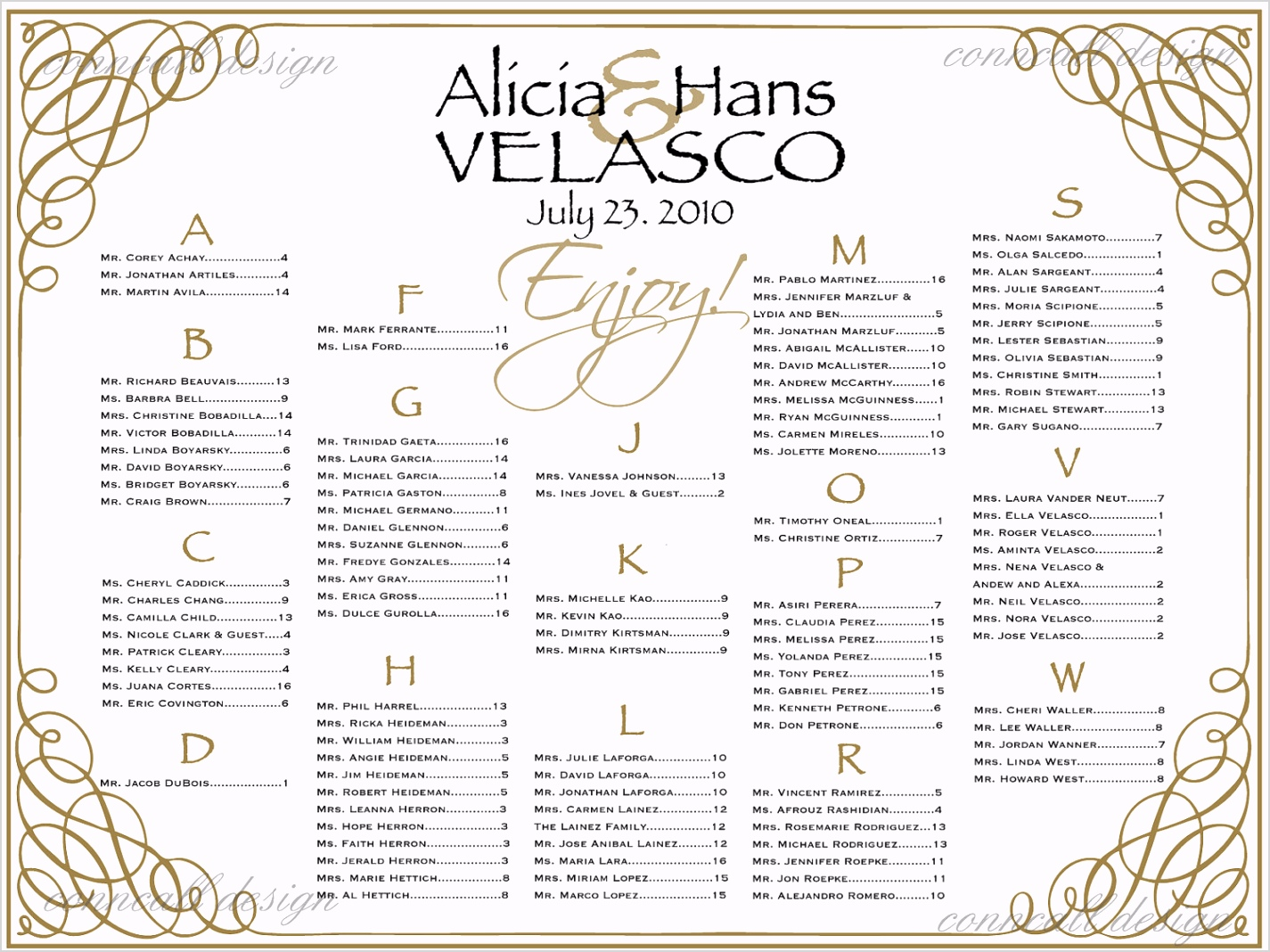 free wedding reception seating chart poster template