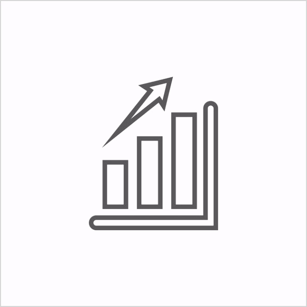 bar chart graphic icon design template png