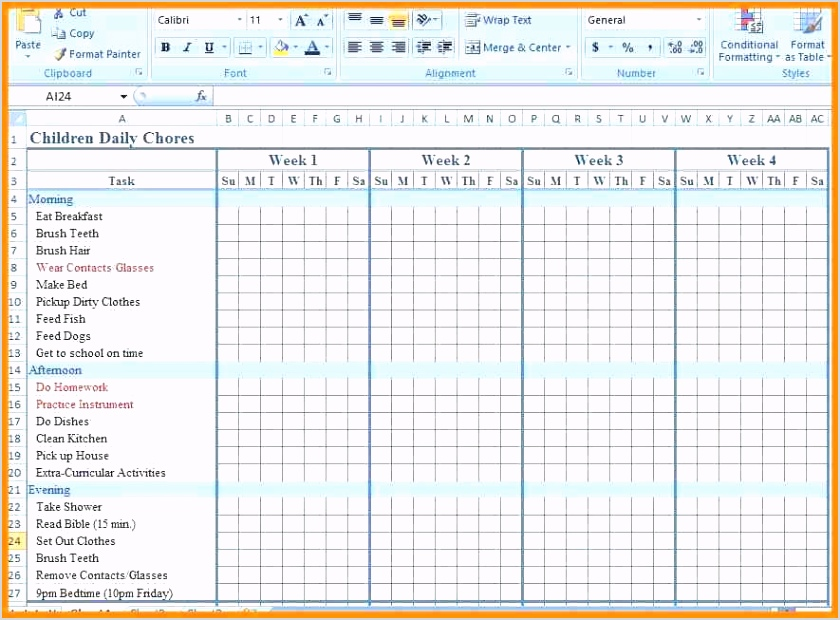free printable monthly chore chart chore calendar template 9 chore chart templates monthly chore chart template excel