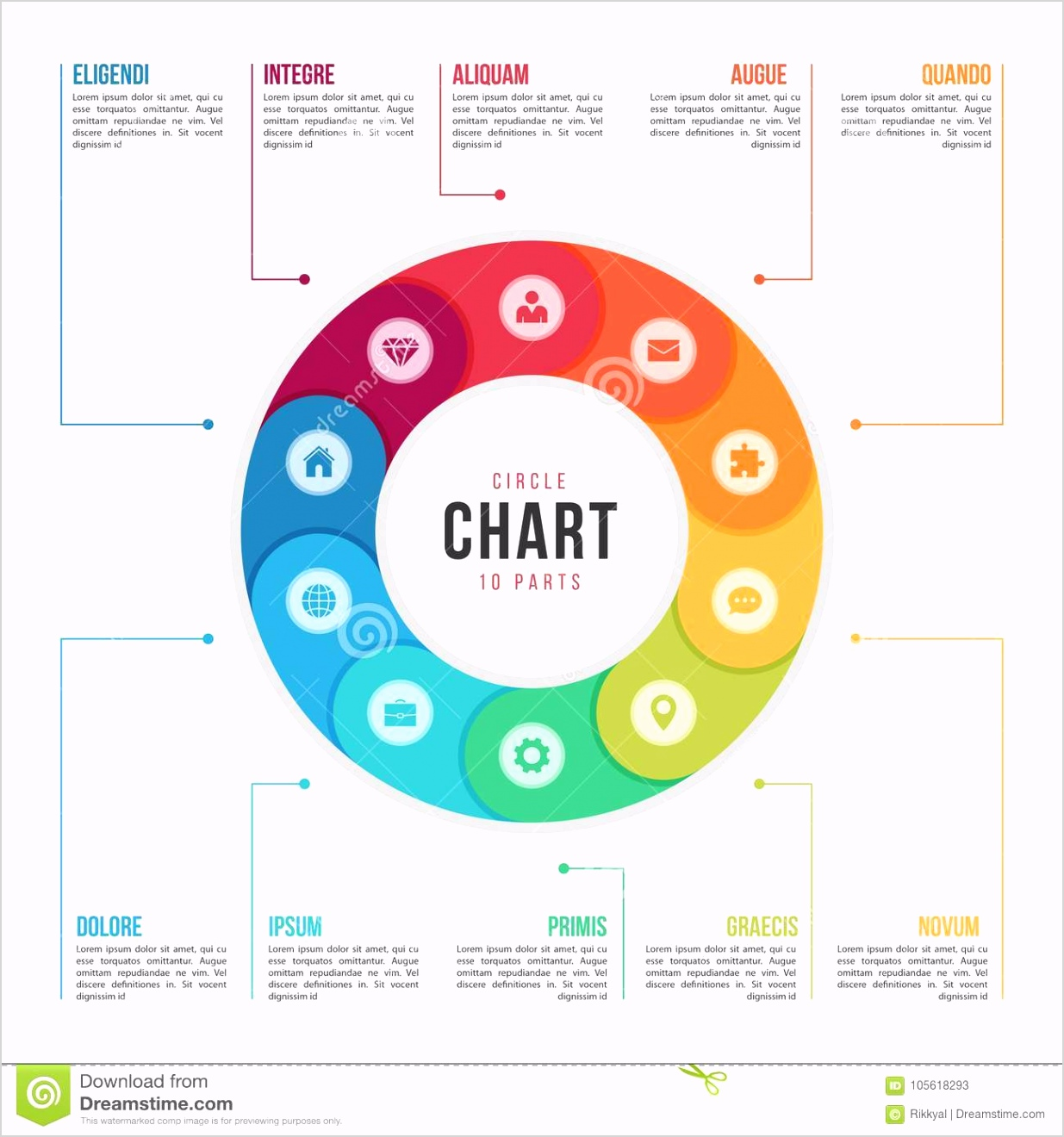 circle chart infographic template parts processes step circle chart infographic template parts processes steps