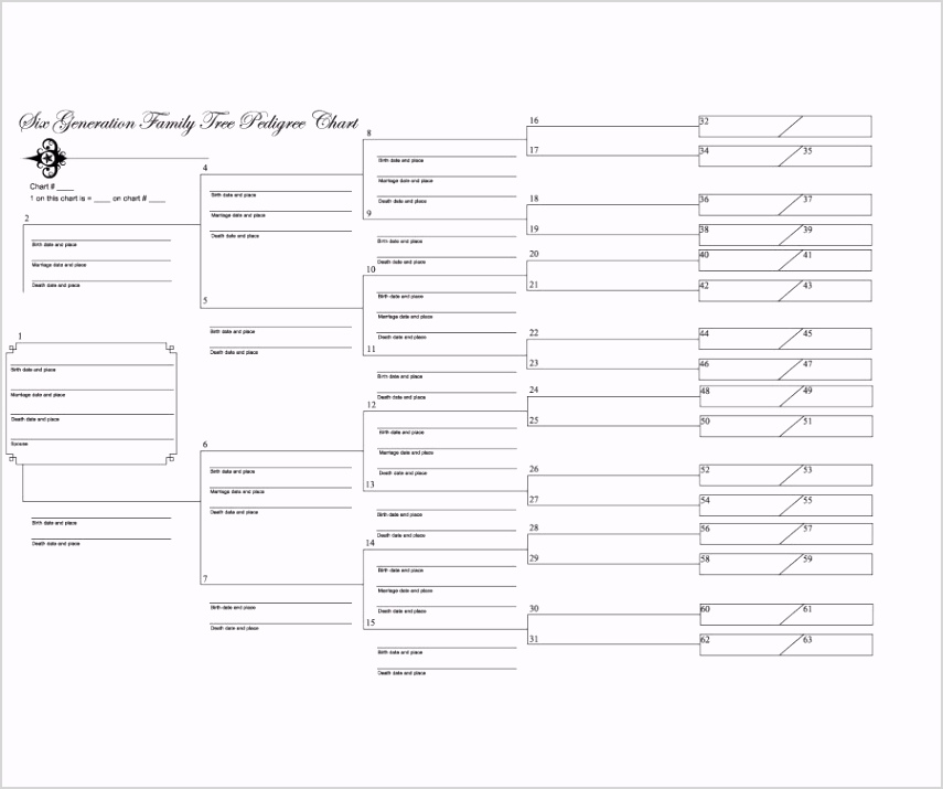 printable family tree form family tree template 04