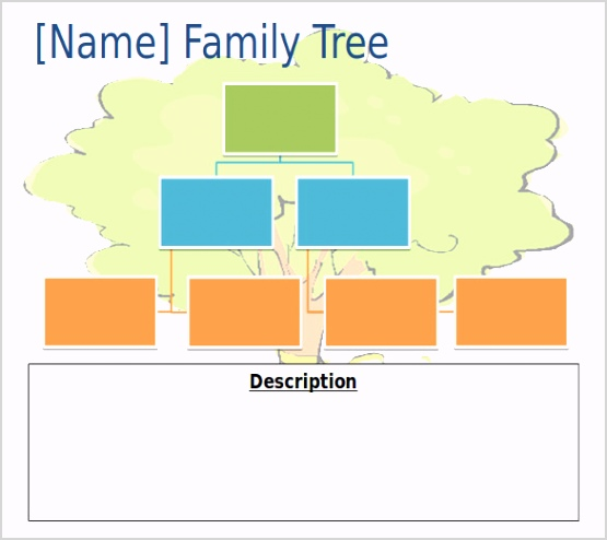 Family Tree Chart Template Powerpointfor 2018