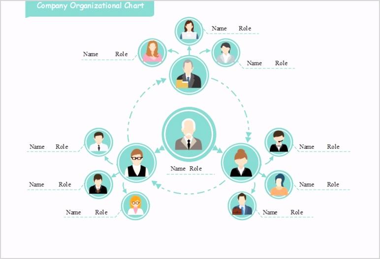 organizational chart template powerpoint best design