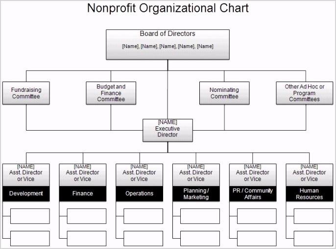 free organizational chart template pany organization corporate structure