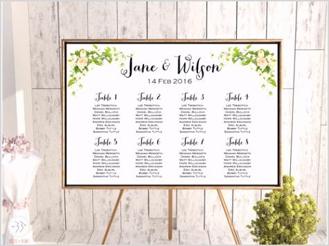 peonies wedding chart printable seating we43