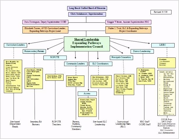 Organizational Chart 12
