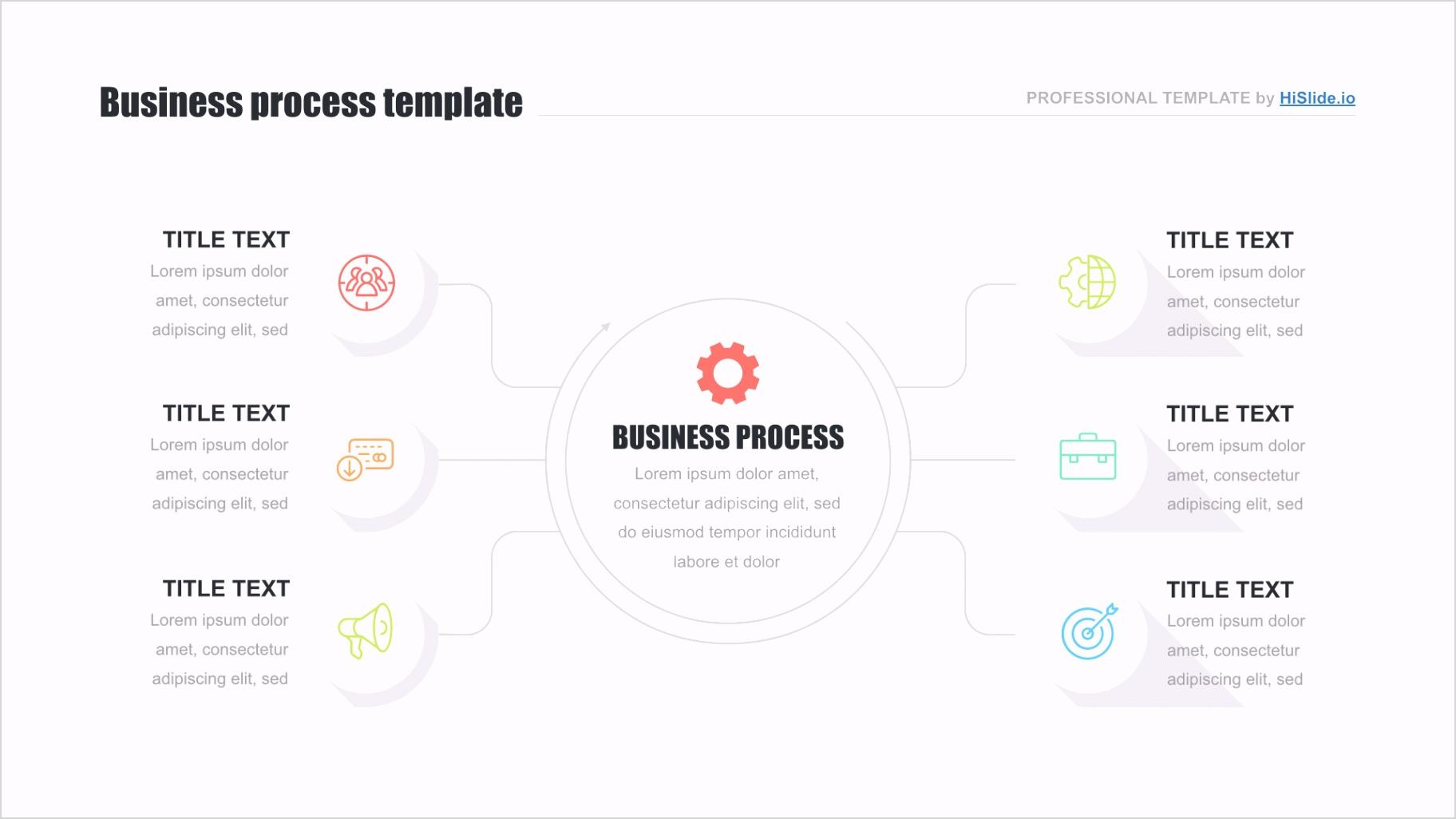 01 keynote org chart template free
