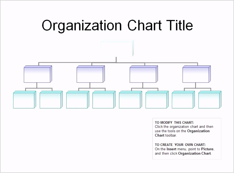 post free printable organizational chart template