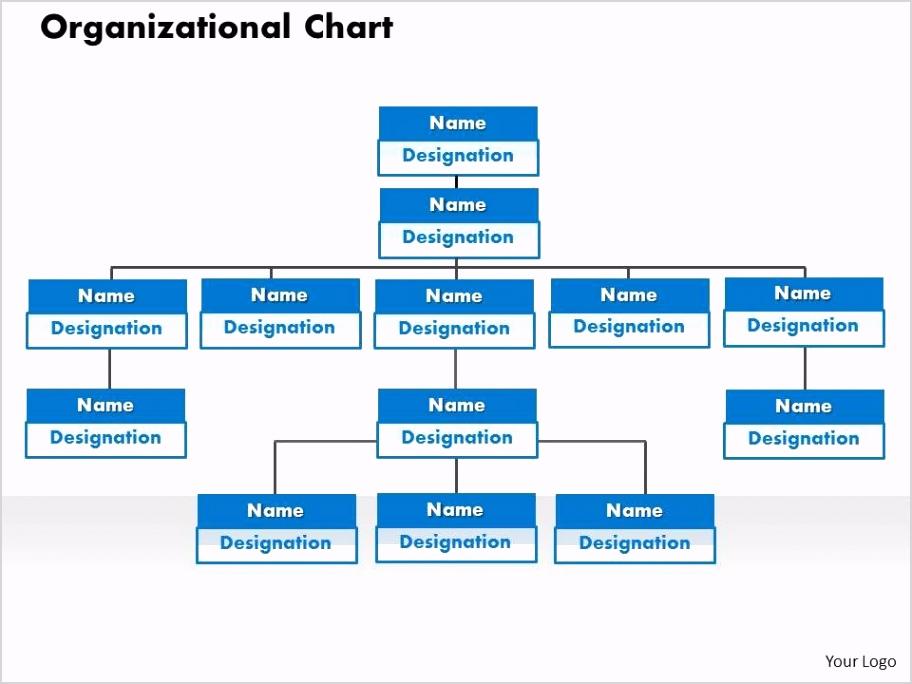 organizational chart powerpoint presentation slide template Slide01