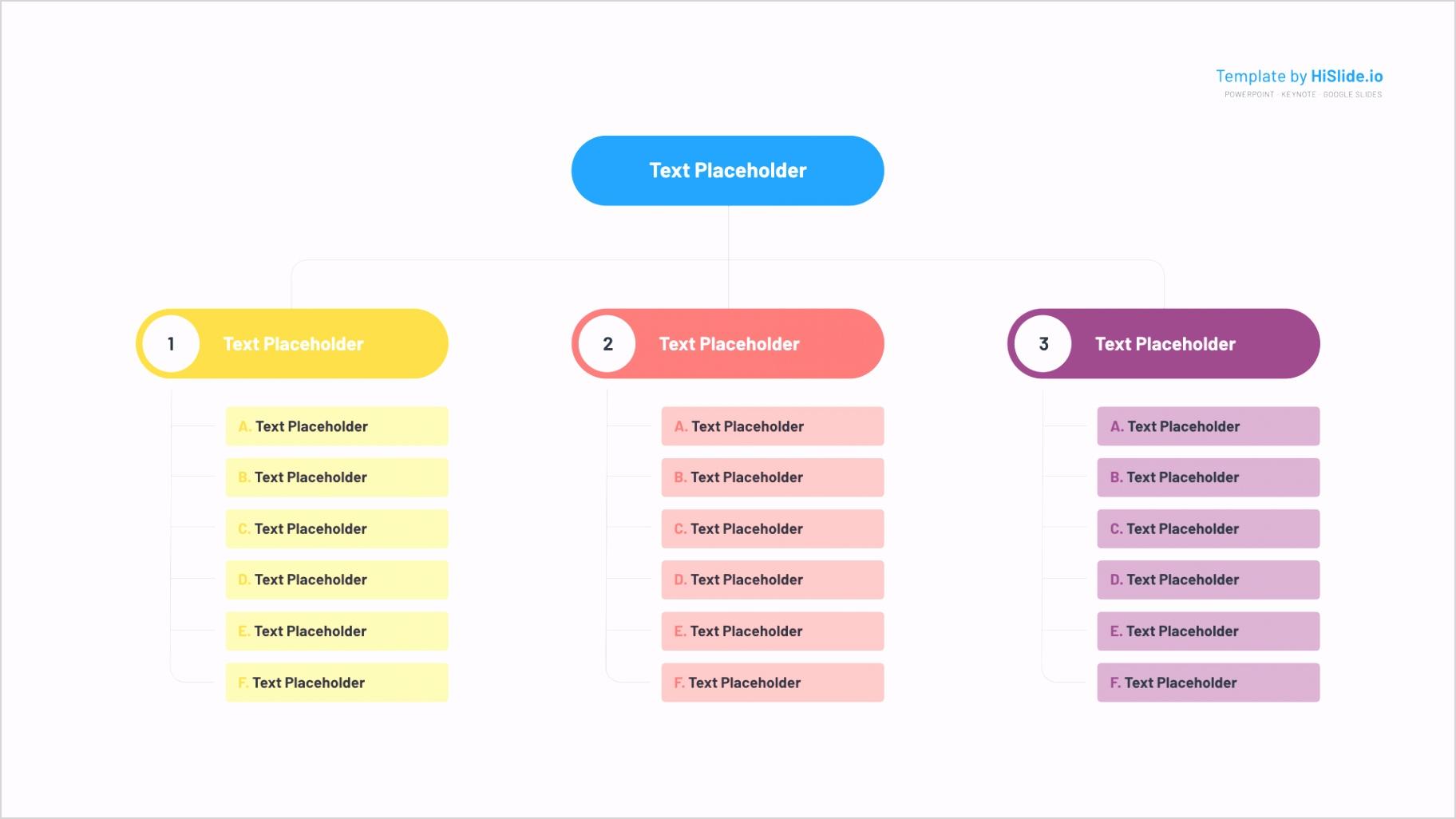 01 organizational structure chart keynote