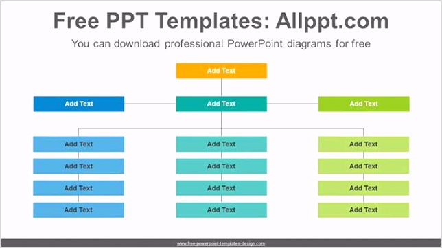 Organization chart PowerPoint Diagram post image