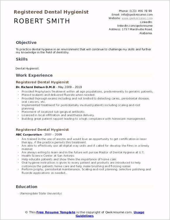 registered dental hygienist pdf