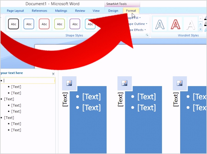 Create a PERT Chart Using Microsoft fice 2007 Step 4