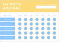 Potty Training Chart Template