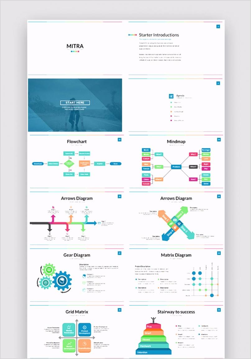 flow chart template powerpoint 7