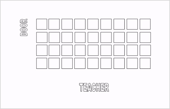 Free Editable Classroom Seating Chart Word Downloa