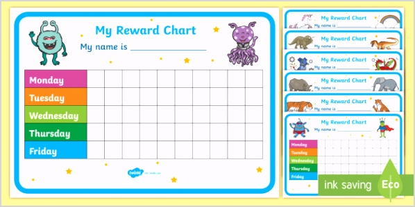 👉 FREE Reward Chart Pack teacher made