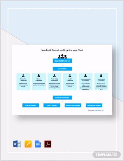 Non Profit mittee Organizational Chart 2