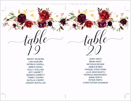 table seating for 20 table seating chart template 1 instant editable wedding bridal shower burgundy large dining table seats 20