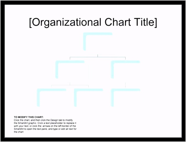 Unique Blank organizational Chart Template in 2020