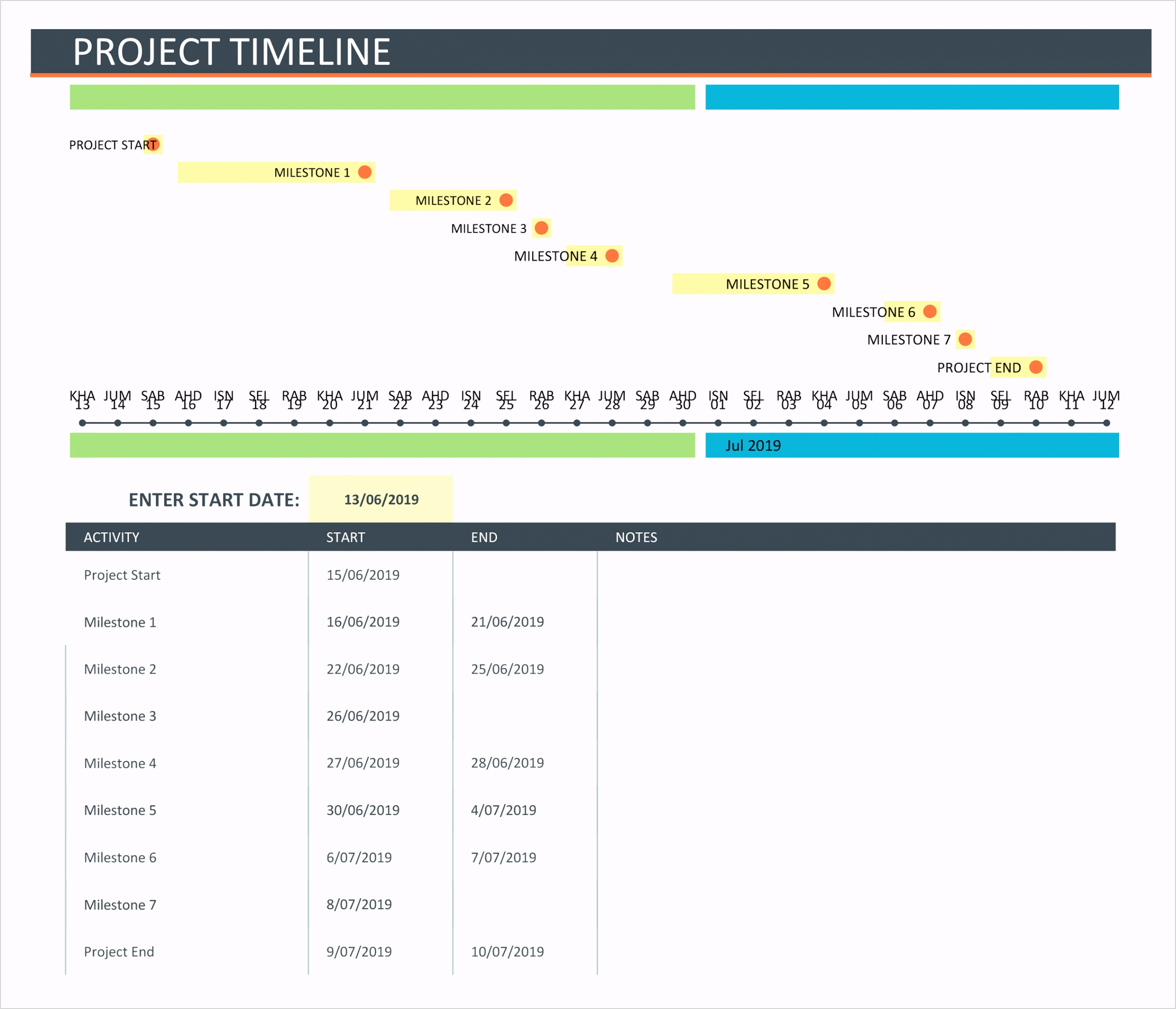 free project timeline template 01