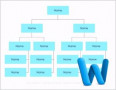 Free organization Chart Template