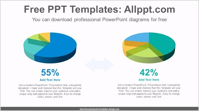 3D pie charts PowerPoint Diagram Template post image