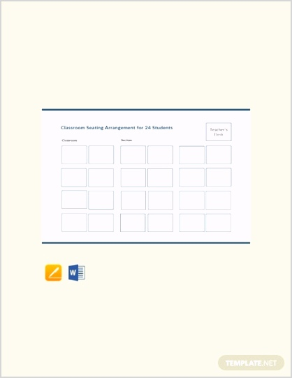 13 FREE Seating Chart Templates PDF Word DOC