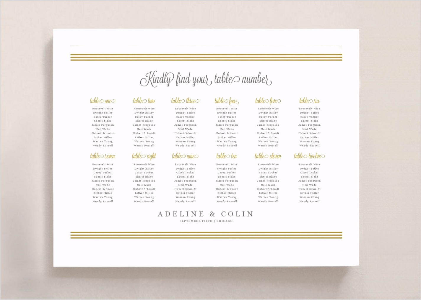 002 stunning wedding seating chart poster template picture