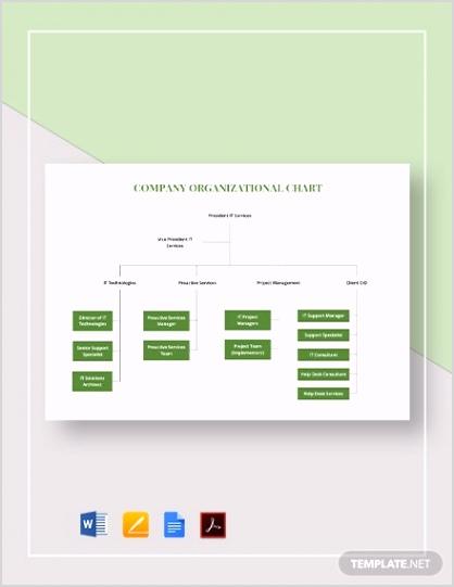 Simple pany Organizational Chart
