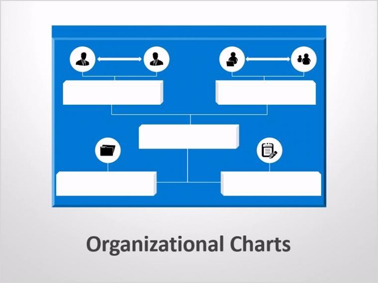products organizational chart editable powerpoint presentation