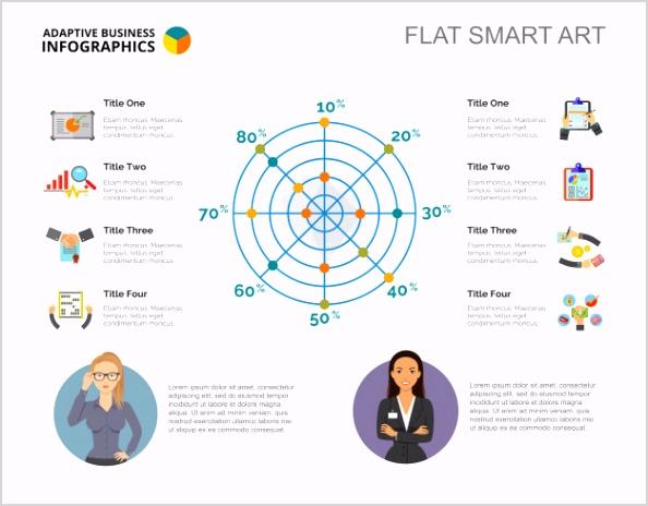 radar chart slide template 1262 7987