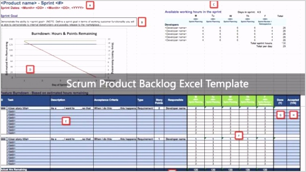 Scrum Product Backlog Excel template scaled