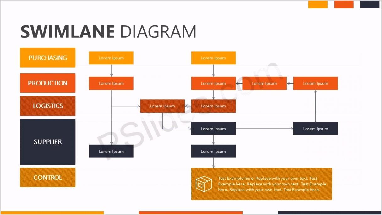 Swimlane Template Slide 1 1