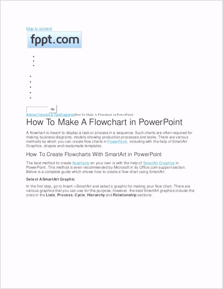 flowchartpowerpoint thumbnail 4