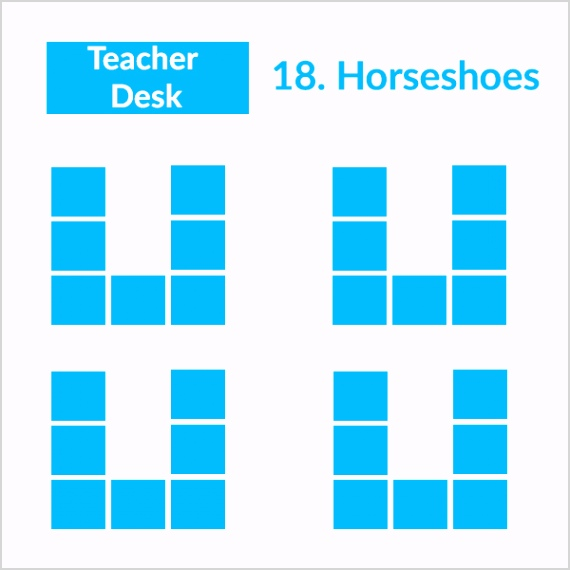 19 Classroom seating arrangements fit for your teaching