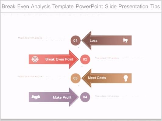 Break Even Analysis Template Powerpoint Slide Presentation
