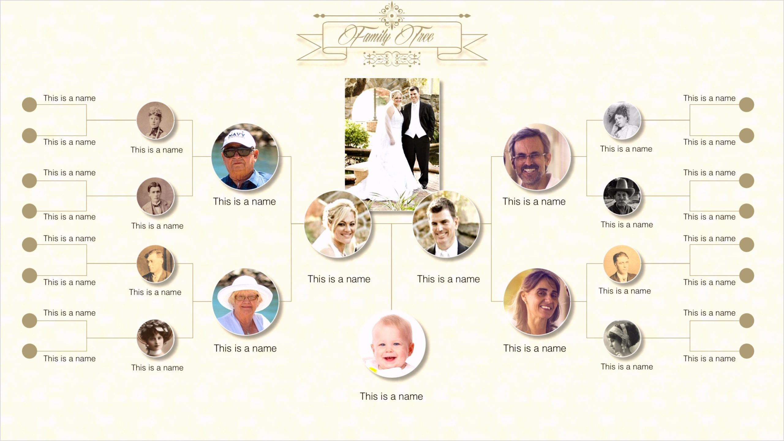8361 family tree powerpoint template 2