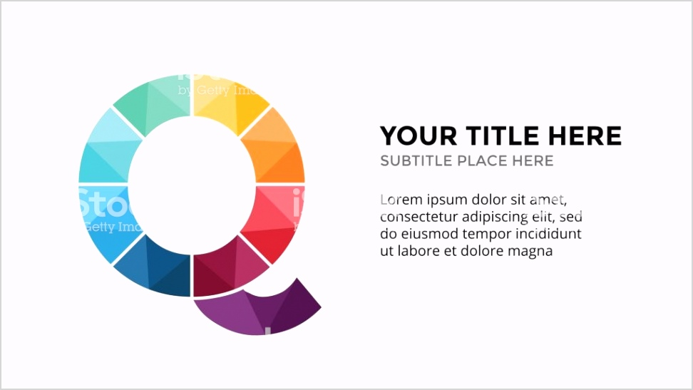 vector alphabet infographic presentation slide template business concept with letter gm