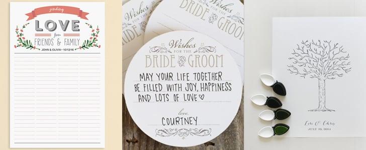Free Wedding Guest Book Printables Popsugar Smart Living