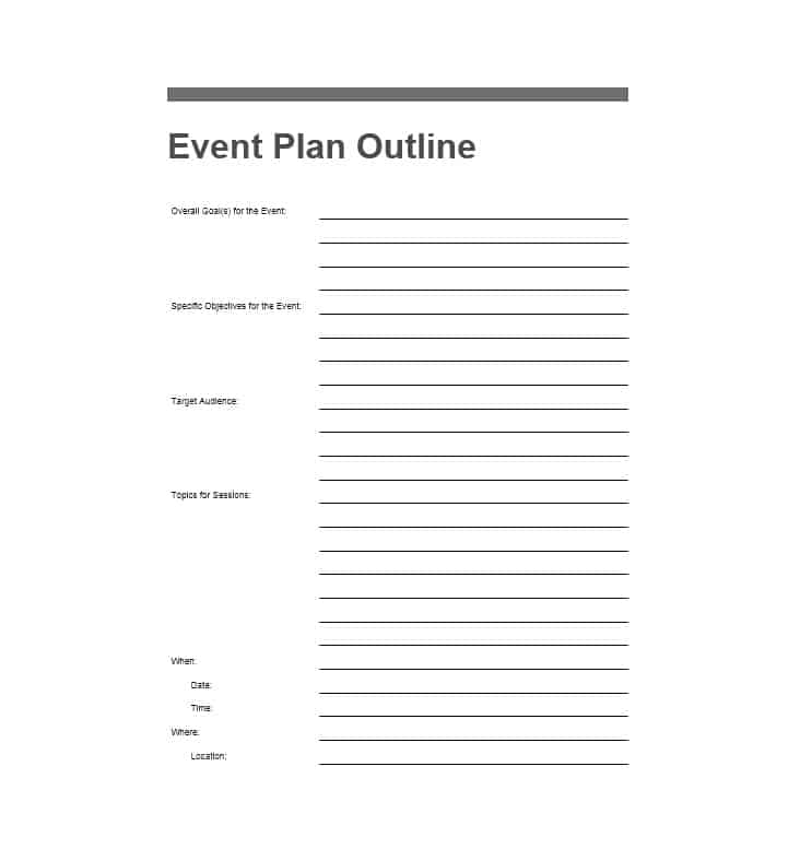 3 The Benefits Of Using Event Planning Template Free Hennessy Events