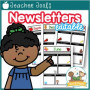 Monthly Classroom Newsletter Template